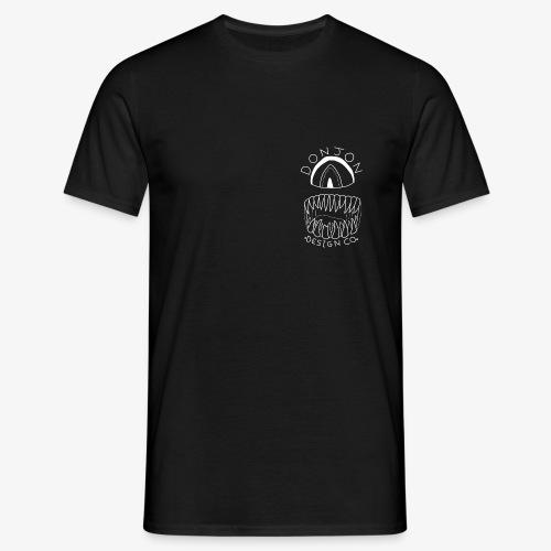Donjon Cyclops White Print - Men's T-Shirt