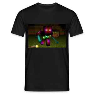 AwesomeSauce Minecraft 2 Swords - Men's T-Shirt