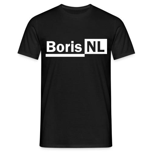 BorisNL Logo - Mannen T-shirt