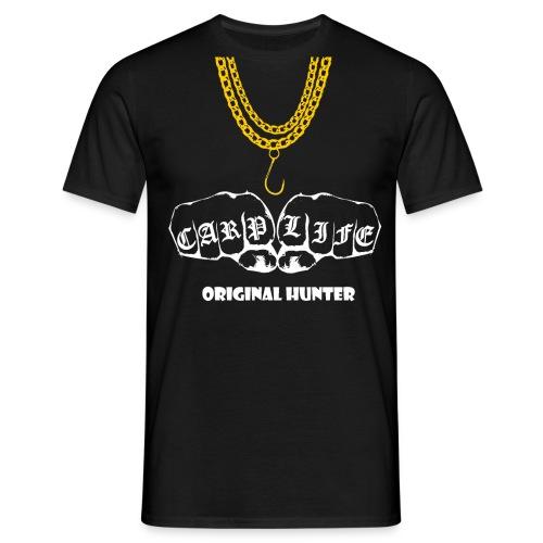 Carp Life Karpfen Jäger Karpfenangler Geschenk - Männer T-Shirt