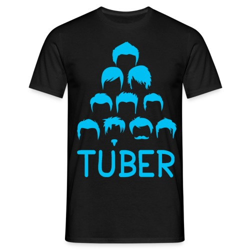 OrdinaryTuber Blue Hair - Men's T-Shirt