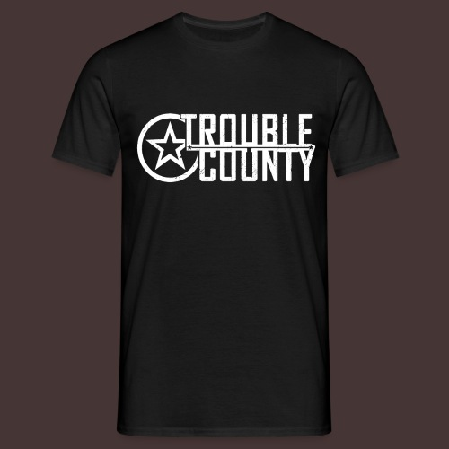 Trouble County Logo - Men's T-Shirt