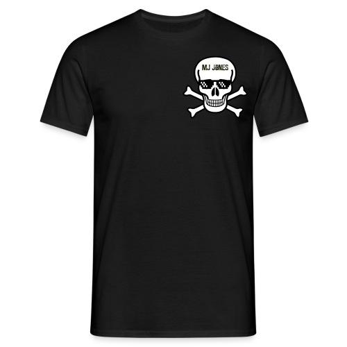M.J JONES SKULL LOGO - Men's T-Shirt