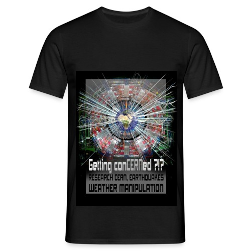Getting conCERNed ?!? - Mannen T-shirt