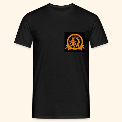 Logo black - Männer T-Shirt