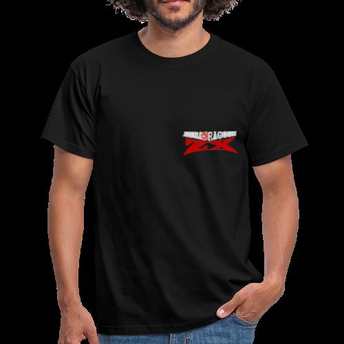 AURADRAGOON ZX DRAGON LOGO (FORBIDDEN TO REJECT) - Men's T-Shirt