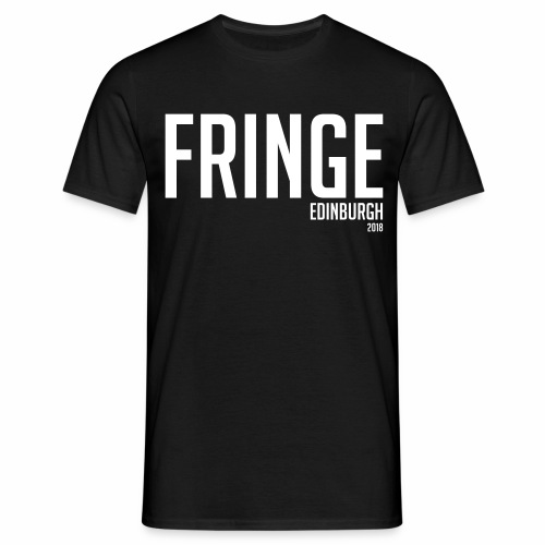 Fringe 2018 Black - Men's T-Shirt