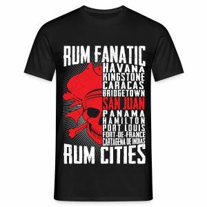 T-shirt Rum Fanatic - San Juan, Puerto Rico - Koszulka męska