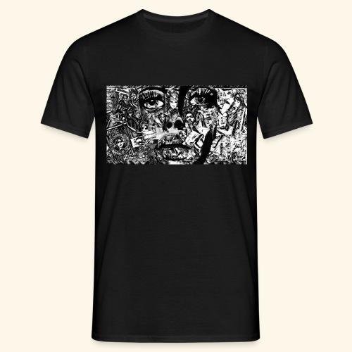 Collage - Männer T-Shirt