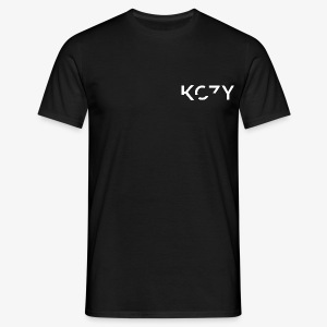 KOZY LOGO - (White) - Men's T-Shirt
