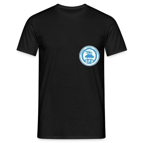 Logo de Policía de Realiacity - Camiseta hombre