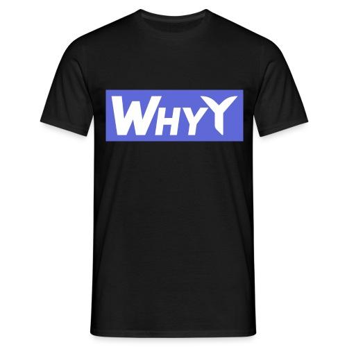 Block Blue | WhyY - Men's T-Shirt