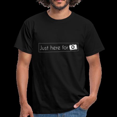 juste ici pour les photos - T-shirt Homme