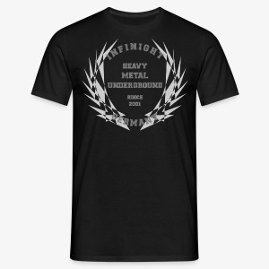 Infinight College Shirts clean hell used - Männer T-Shirt