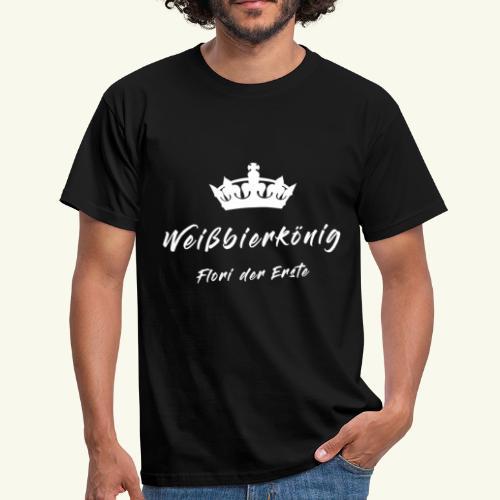 Weißbierkönig - Männer T-Shirt