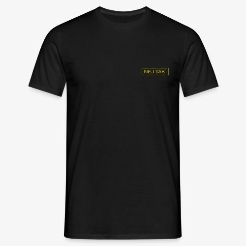 Nej tak guld - Herre-T-shirt