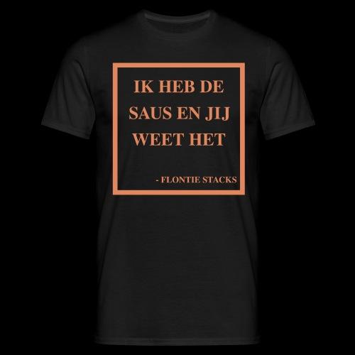 Saus - Mannen T-shirt
