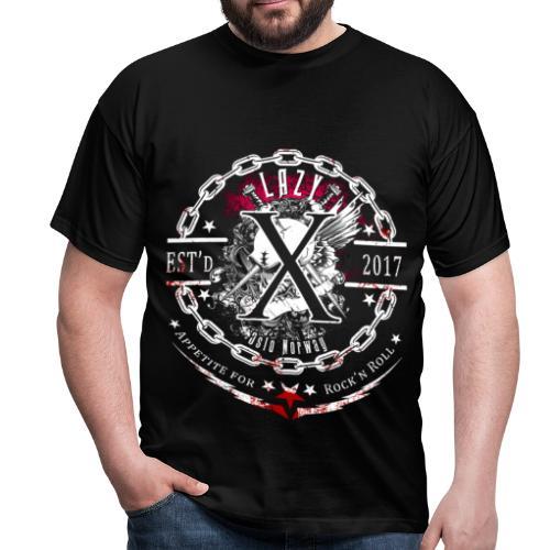 Lazy X - Appetite for Rock'n Roll - Men's T-Shirt