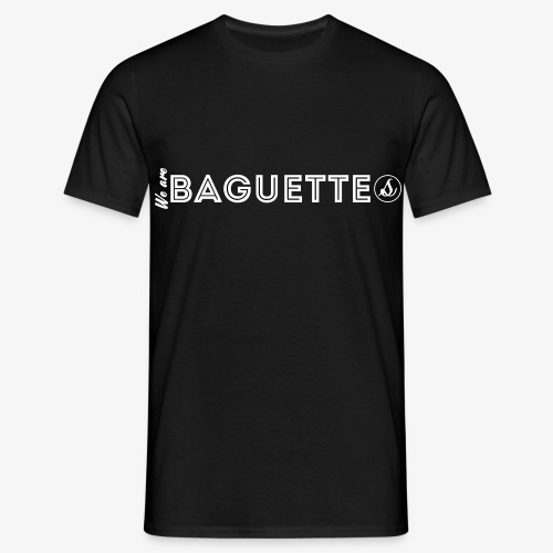We Are Baguette Straight By Catwo - T-shirt Homme