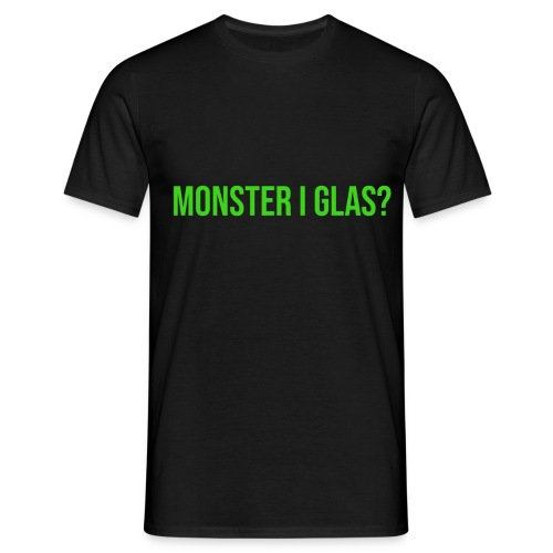 Monster I Glas? - T-shirt herr