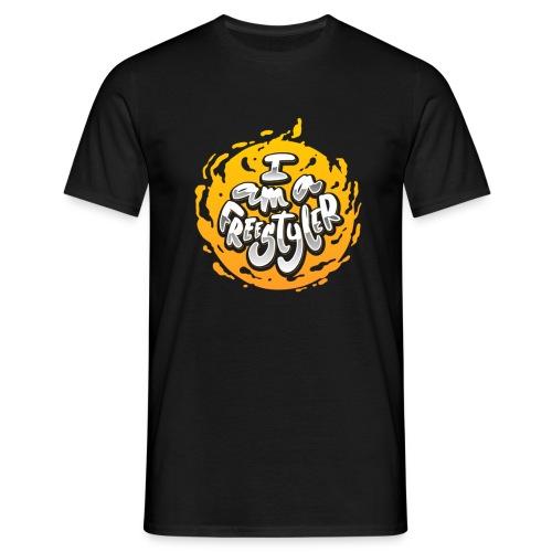 Yellow / Black - Men's T-Shirt