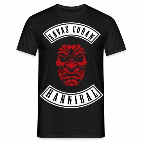 Savas shirt SCHWARZAUFWEISS - Männer T-Shirt