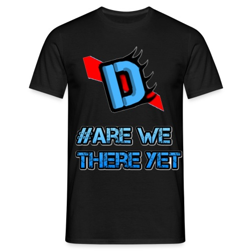 Deadmanj1990 #Are We There Yet - Men's T-Shirt