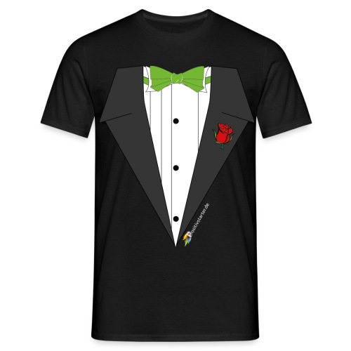Gala Hero - Positivstarter Official Black Shirt - Männer T-Shirt