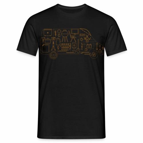 4WheelsOnTour - Männer T-Shirt