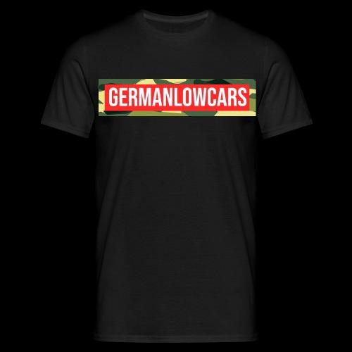 G L C R E D C A M O - Männer T-Shirt