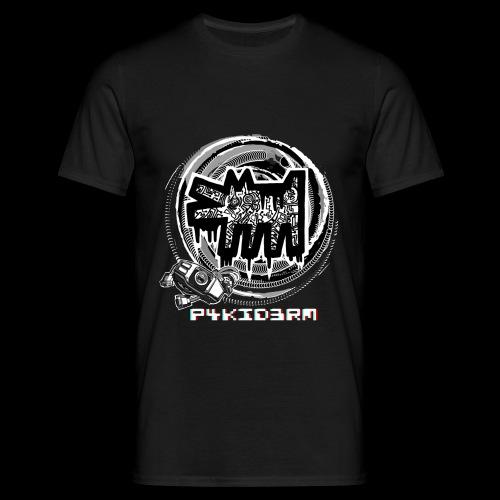 p4kid3rm black and white - Maglietta da uomo