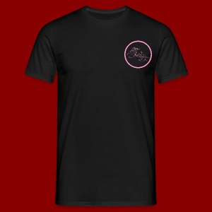 Logo rond / Rose - T-shirt Homme