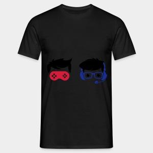 Nerd and Geek - Logo Bunt ohne Schriftzug - Männer T-Shirt