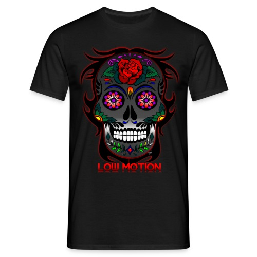 Low Motion Face Gray - Camiseta hombre