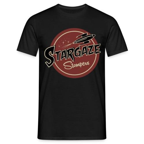 T Shirt Farbe Stargaze Stompers - Männer T-Shirt
