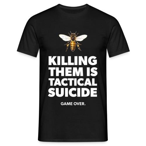 Ein Statement für die Bienen - Männer T-Shirt