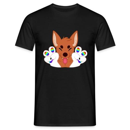 Magic's Gay Peace Fingers - Men's T-Shirt