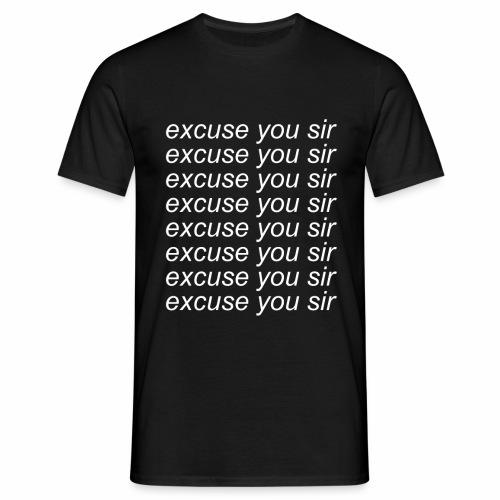 Excuse you x8 - T-shirt herr