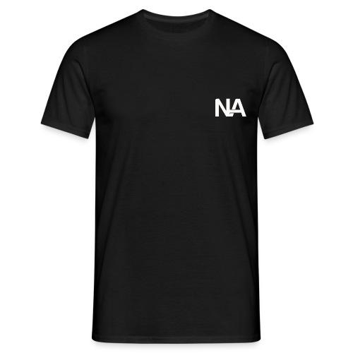 NA Logo white - Men's T-Shirt