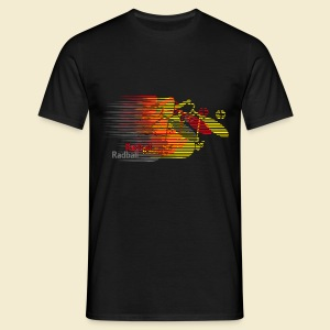 Radball | Earthquake Germany - Männer T-Shirt