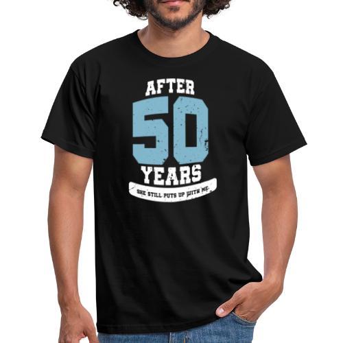 Ü50 Über 50 Jahre 50th - first - Männer T-Shirt