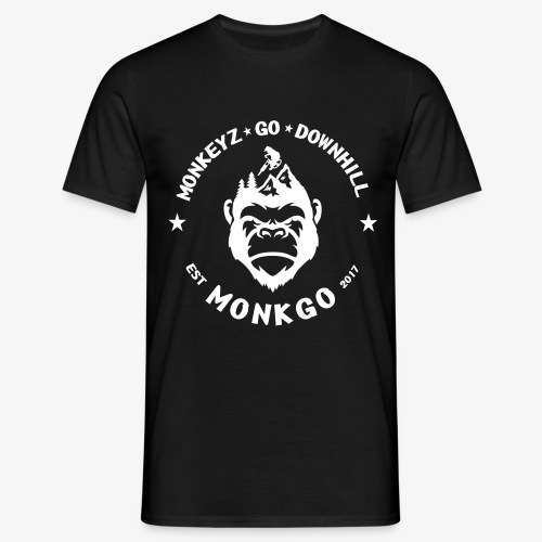 MonkGo Circle - Männer T-Shirt