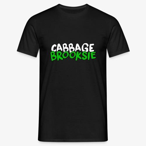 cabbagebrooksie logo v2 - Men's T-Shirt