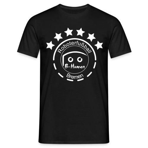 B-Human Roboterfußball Logo - Männer T-Shirt