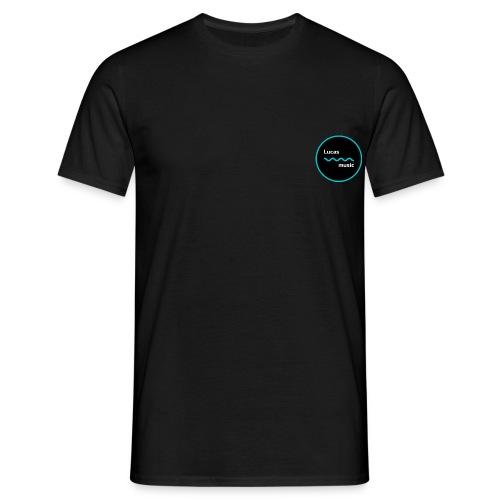 Lucas_music logo - T-shirt herr