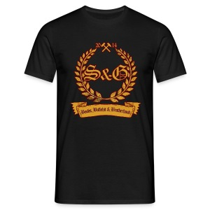 S & G - Boobs, Bullshit & Brotherhood - Männer T-Shirt