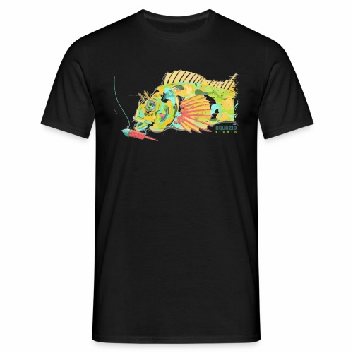 Tompot Blenny Light Rock Fishing - Men's T-Shirt