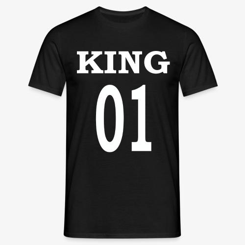 King01white - Männer T-Shirt
