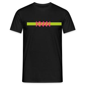 KNNN stripe-logo - T-shirt herr