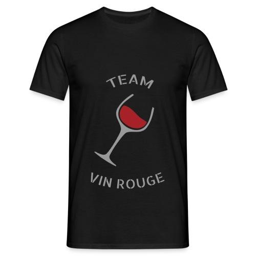 Team Vin Rouge - T-shirt - T-shirt Homme